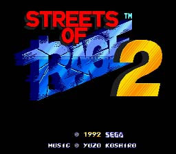 Streets of Rage 2 Genesis Screenshot Screenshot 1