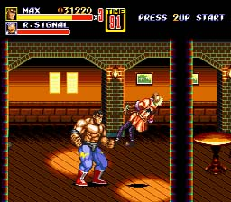 Streets of Rage 2 screen shot 2 2